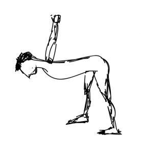 Posture de yoga et méridien poumon