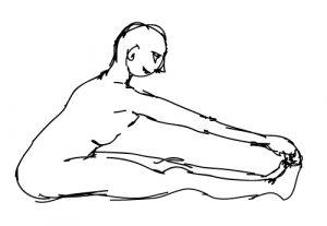 Posture de yoga et méridien vessie